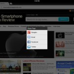 Google Chrome Update Shares on iOS screenshot