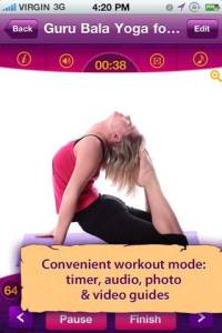 All in one Yoga iPhone Screenshot 2 200x300 All in YOGA: 300 Poses & Yoga Classes iPhone Review screenshot