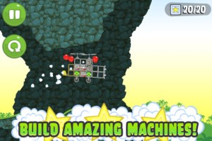 Bad Piggies iPhone Screenshot 2 300x200 Bad Piggies iPhone Review screenshot
