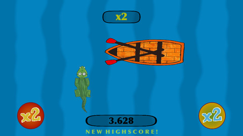 Aligator Race screenshot Alligator Race iPhone Review screenshot
