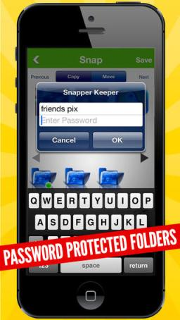 SnapVault Pro for Snapchat iPhone Review screenshot