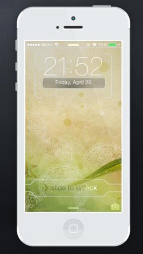 FancyLock for iOS 7 iPhone Review screenshot