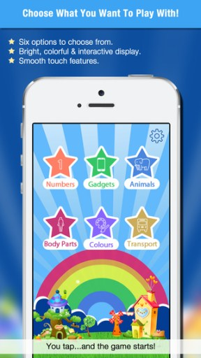 Kids Tiles iPhone Review screenshot