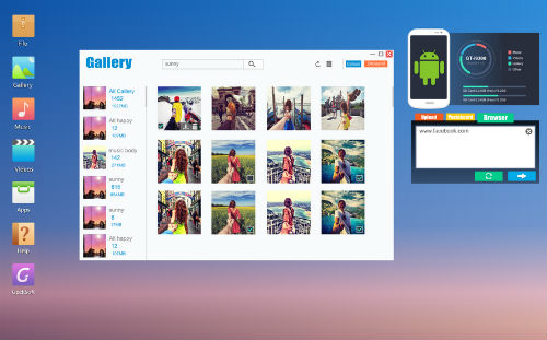 Screenshot 2014 08 01 at 15 Web PC Suite Android Review screenshot