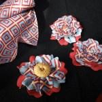 Flores de tela mexicanas