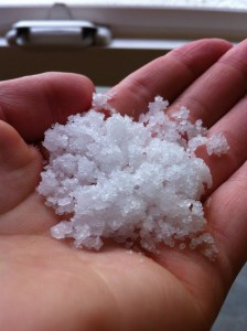 Fresh sea salt. Mmm.