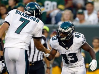 Bradford, quarterback for the Eagles, was acquired in an offseason trade. Photo courtesy of NJ.com