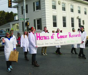 Many groups were represented in the parade.