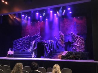 The set for Macbeth was very detailed and impressive. (Allie Remis/Snapper)