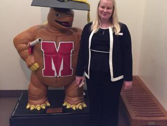 Maria will attend the University of Maryland for her graduate degree.