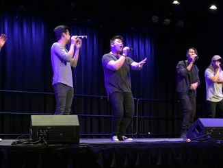 The Filharmonic sang covers of popular Top 100 hits. (Taylor Cole/Snapper)