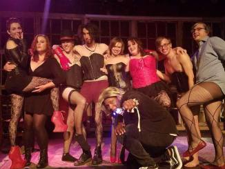 Alex Hart starred as the lead in Tellus 360's rendition of Rocky Horror. (Photo Courtesy of the Facebook of Philip Rooney).