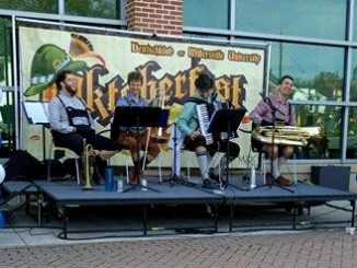 Music, food and fun filled this year's Oktoberfest last Saturday in the Promenade (Nora Long/Snapper)
