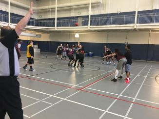 Despite losing in the semi-finals, the PIRSA basketball tournament was a success to the Marauders who participated. (Photo courtesy of Allison Yarrow)