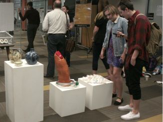 This event brought together students, faculty and community members alike, and showcased the works that these students dedicated their time to. Kaylee Rex/Snapper