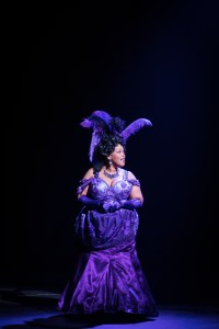 Nightclub singer Medda Larkin, played by Angela Grovey, brings humor and energy to the production.
