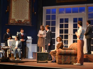 "The cast of Millersville's ""And then there none"" previews their performance. (Blair Simon, Snapper)"