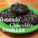 Pinterest Project #2: Healthy Avocado Chocolate Cookies