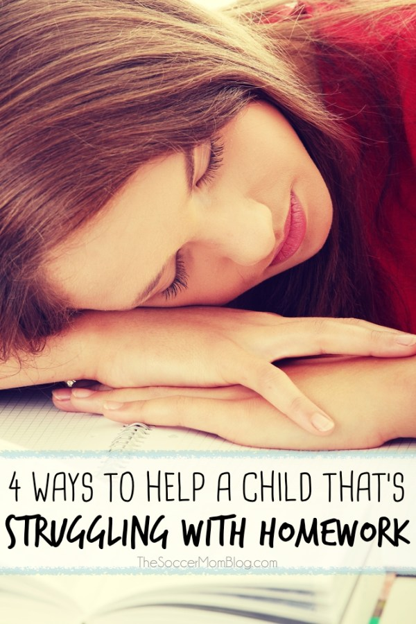 As a parent, it's tough to see your child struggling with homework! These are four things I've found to be very helpful for achieving homework success.