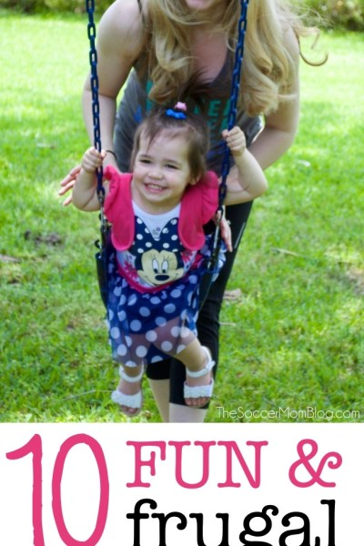 10 Fun & Frugal Mother Daughter Activities