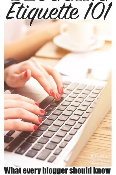 Blogging Etiquette: What ALL Bloggers Need to Know