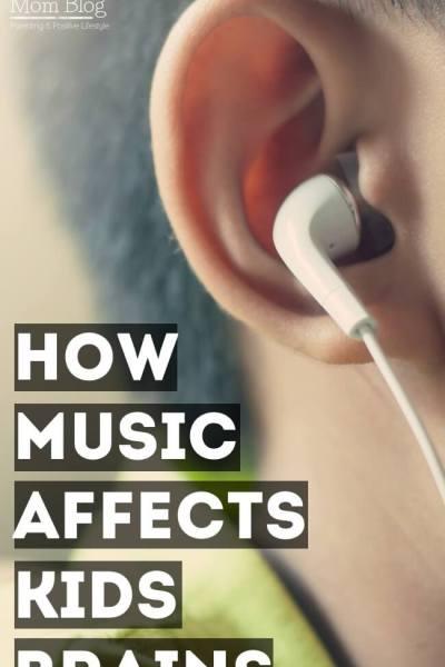 How Music Affects Children's Brains