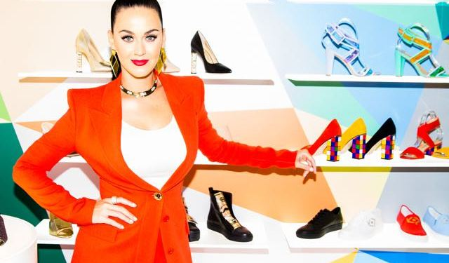 Katy Perry Launches Shoe Collection