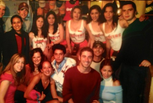 My 21st birthday party in a Mexico City Hooters...memorable in so many ways.
