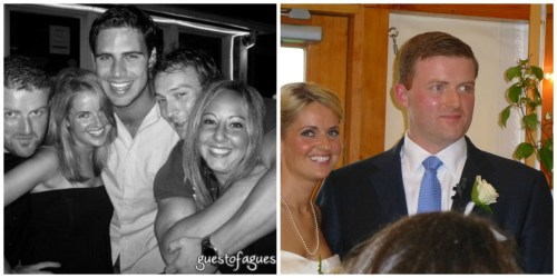 Summer 2009...the night they met. Summer 2013...the night they got married!