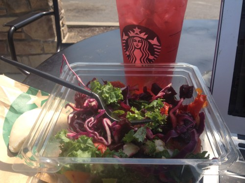 Oh, hello again veggie salad.