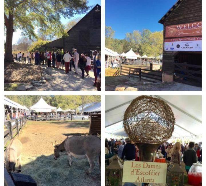 Food& Wine Event- Les Dames d'Escoffier's Afternoon in the Country in Atlanta