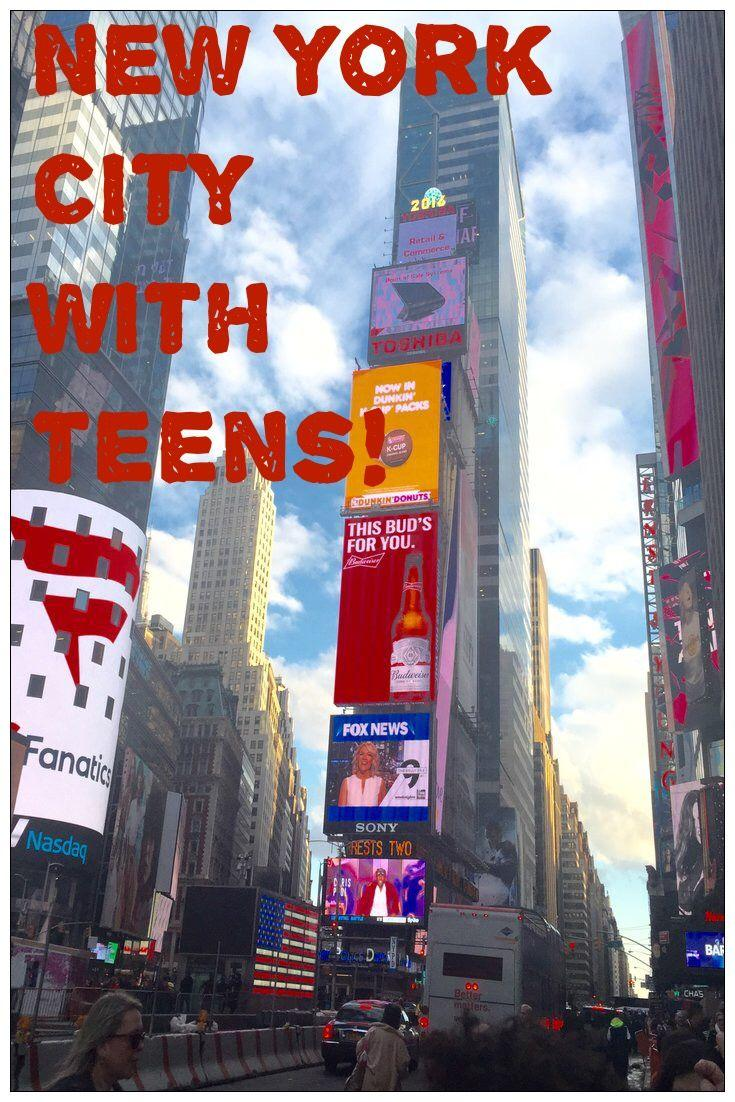 Family travel new york city with teens the for Family things to do in nyc