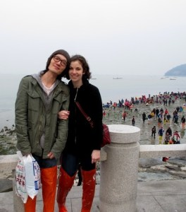 Jindo Miracle Sea Parting Festival, Korea; Korean indie musician from Every Single Day, Jae-oo Jeong and his wife Hallie Bradley, The Soul of Seoul blogger