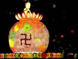 Float at the Lotus Lantern Festival