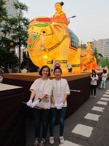 Seoul, Korea: Lotus Lantern Festival 2013, Performance