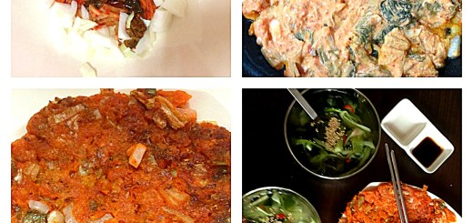Korean Cooking: Kimchijeon