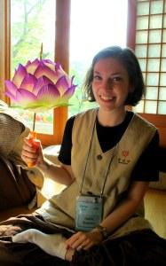 Lotus Lantern making