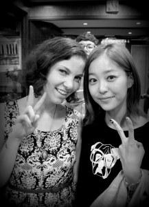 Me with Kim Ga Eun