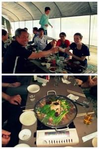 Daeshin Language Teachers Picnic May 2012: Lots of Food