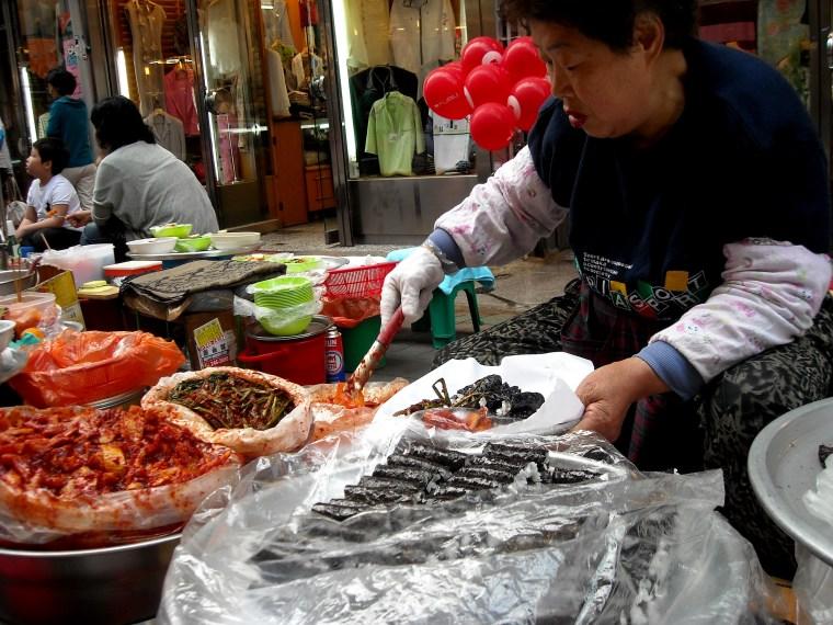 Let's Eat Alley, Busan, Korea