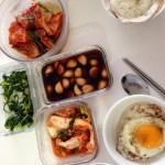 December On The Go, Food, Korean Meal
