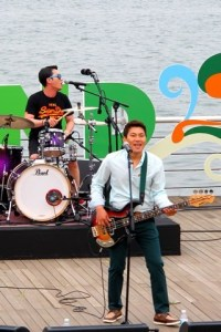 Every Single Day at Greenplugged Festival 2014 at Nanji Hangang Park, Seoul, Korea. Live in concert. Korean indie band.