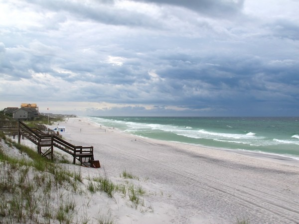 Seagrove, Florida with the family