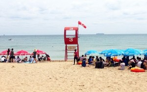 August On The Go: Songjeong Beach, Busan, Korea