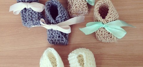 September On the Go: Knitted booties