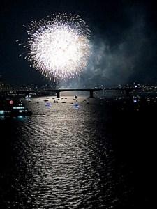 Yeouido Fireworks Festival, Seoul, Korea