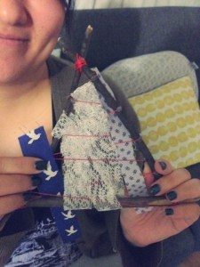 March On The Go: Weaving