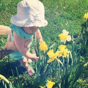 April On the Go: Baby and Flowers, Ohio