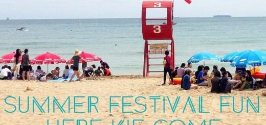 Summer Festival Fun, beach