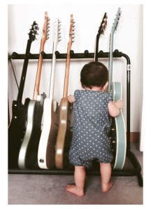 infant and guitars